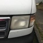 Single Headlight Unpolished