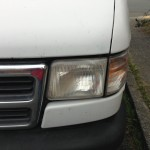 Single Headlight Polished